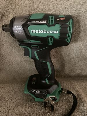 """Metabo 18 V HPT Brushless 1/2"""" Impact Wrench TOOL ONLY for Sale in Highland, CA"""