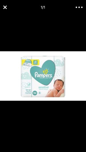 Baby pampers wipes for Sale in Columbus, OH