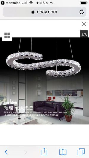 Modern LED Crystal Chandelier Ceiling Lamp Lighting Kitchen Island Pendant Light price firm $100 for Sale in Hayward, CA