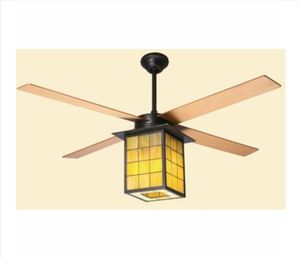 """Real Stained Glass Light Fixture and 42"""" ceiling fan for Sale in Paradise Valley, AZ"""