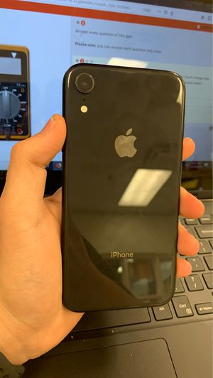 iPhone XR black unlocked for Sale in Port St. Lucie, FL