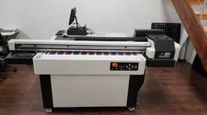 KMBYC - Flatbed UV Printer w/ Vacuum Bed for Sale in Hollywood, FL
