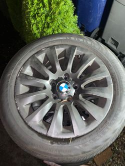 Bmw 328i 2008-2012 rims with tires for Sale in Lynnwood,  WA