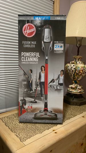 Hoover Fusion Max Cordless Vacuum for Sale in Hawley, PA