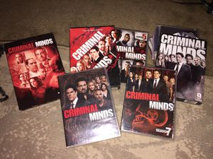 Criminal Minds (Seasons 3,4,5,7,8, and 9) for Sale in Knoxville, TN