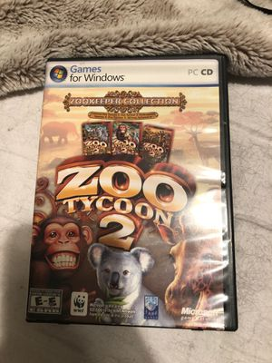 Zoo Tycoon 2 Computer game for Sale in Hollywood, FL