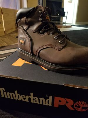 BRAND NEW NEVER TRIED ON STEEL TOE TIMBERLAND PRO SIZE 10 for Sale in Newport Beach, CA