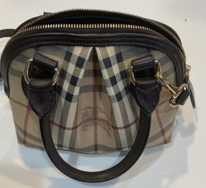 Burberry Small Haymarket Bag Authentic for Sale in Lansdowne, VA