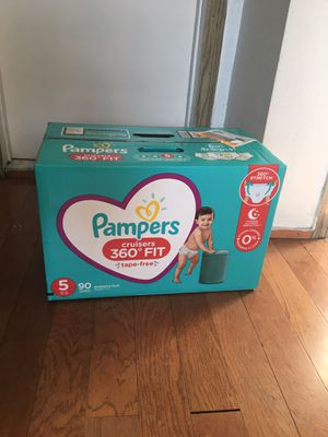 Pampers SIZE 5 90 pañales for Sale in Lynwood, CA