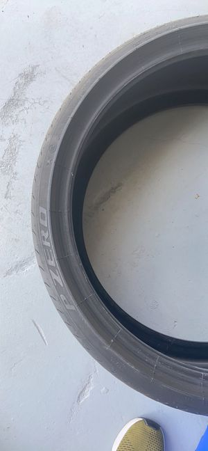 Pirelli p zero two tires for Sale in Spring Hill, FL