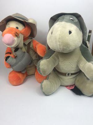 Winnie the Pooh Safari Eeyore & Tigger Plush Toys for Sale in Waukegan, IL