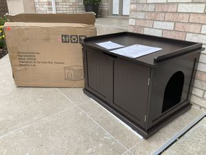 Cat litter box (brand new ) - retails $150 for Sale in Downers Grove, IL
