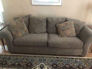 Olive green sleeper sofa for Sale in Herndon, VA