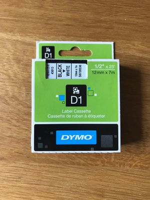 DYMO Authentic D1 Label for Sale in Salinas, CA