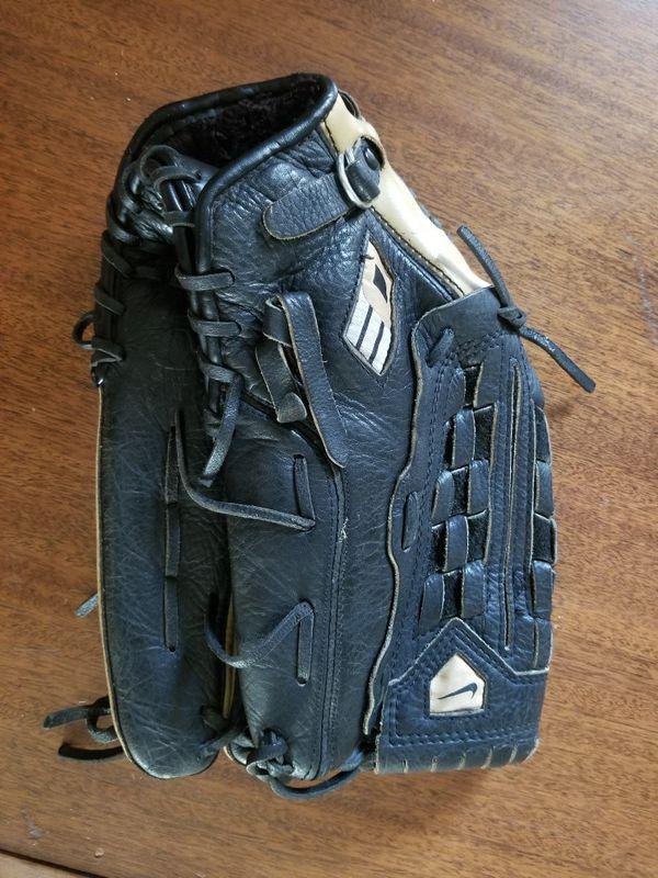 Nike Diamond Elite Edge 14.00 Baseball/Softball glove, leather, metal, sport, games