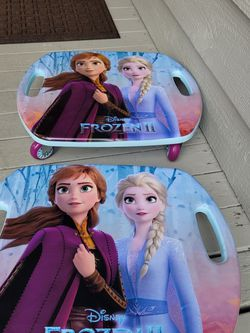 2 For $45 Disney Frozen Scoot Racer Ride-on Frozen Clean Looks - Sit, Kneel, Scoot! for Sale in Everett,  WA