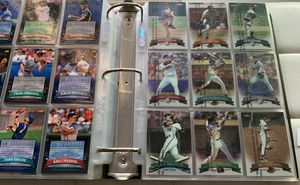 1998 Topps Finest Complete Baseball Card Set In Binder 1-275 Looks mint for Sale in Brea, CA