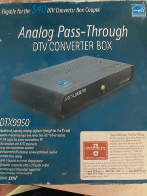 DTV Converter box for Sale in Tampa, FL