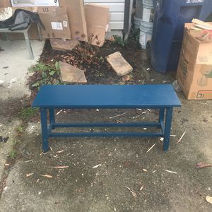 wooden bench for Sale in Kirkland, WA