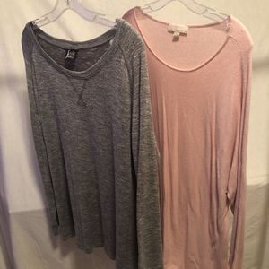 2 Women's Long Sleeve Shirts for Sale in McHenry, IL