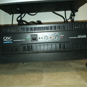 Power Amplifier Q SC 5050 for Sale in Brooklyn, NY