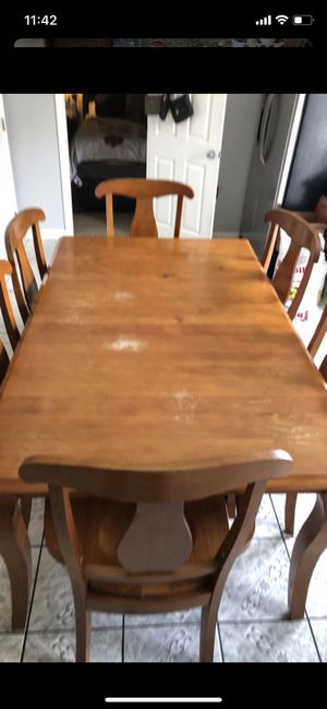 6 chair table for Sale in Aurora, CO