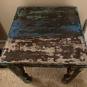 Reclaimed Wood Side Table for Sale in San Diego, CA