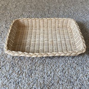 ‼️Braided Edge Rectangle Wicker Basket‼️ for Sale in Edgar, WI