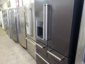 Large selection of Stainless steel refrigerators at Discount prices for Sale in Chesapeake, VA