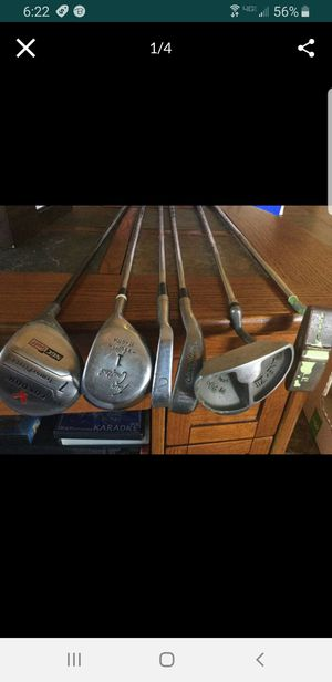 6 Miscellaneous Golf Clubs for Sale in Laveen Village, AZ