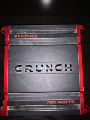 Crunch Amp for Sale in Roseville, CA