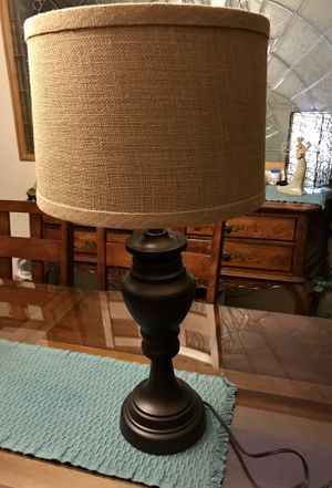 Metal base lamp for Sale in Claremont, CA
