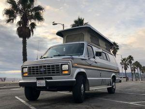 1991 Ford E-350 Sportsmobile EB SMB RV Camper Van Solar, Generator, Furnace, AC, Stove, Fridge, Shower, Water Heater for Sale in Los Angeles, CA