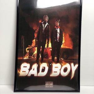 Juice Wrld Rap Poster for Sale in Whittier, CA