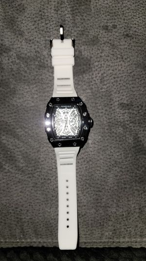Mens White Rubber Band Watch for Sale in Fort Lauderdale, FL