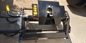Demco 18k fifth wheel hitch (only used 3 times)...also Pull-rite auto slide hitch for Sale in Claremont, CA