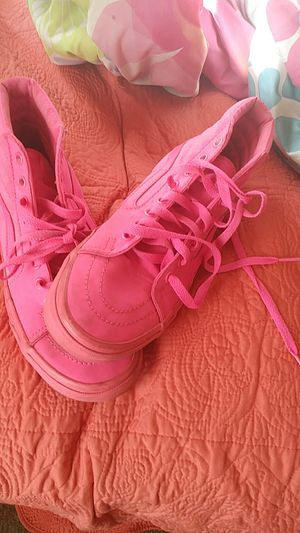 Pink vans, size 8.5 $50 for Sale in Tampa, FL
