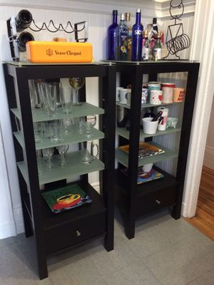 Pair of Sauder display shelf units for Sale in West Menlo Park, CA