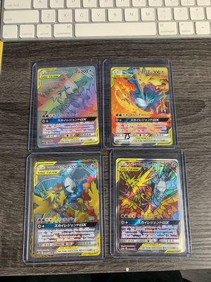 Pokémon PACK FRESH JAPANESE SM10b GX Zappos, Moltres, Articuno for Sale in Dunedin, FL