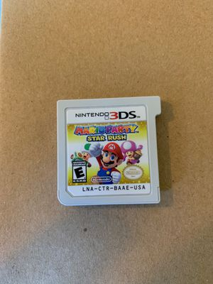 Mario Party Star Rush for Sale in Lake Forest Park, WA