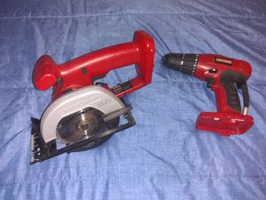 Craftsman 14.4 volt Saw and drill for Sale in New Haven, CT