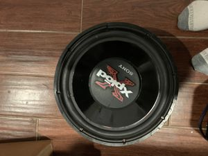 "12"" subwoofer (working ) for Sale in Clovis, CA"