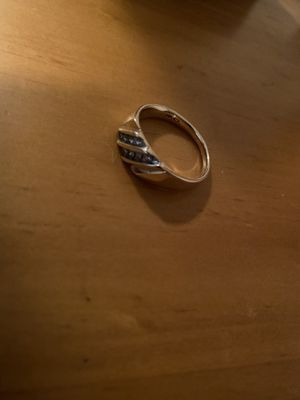 14k Solid Yellow Gold and natural diamond Ring size 10.5 for Sale in Waterbury, CT