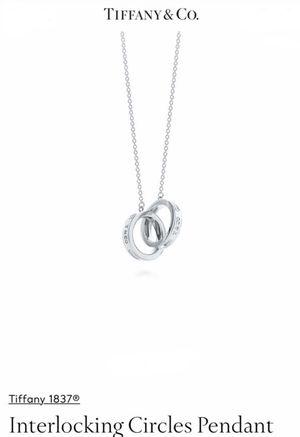 Tiffany's Interlocking circle pendent for Sale in Chula Vista, CA
