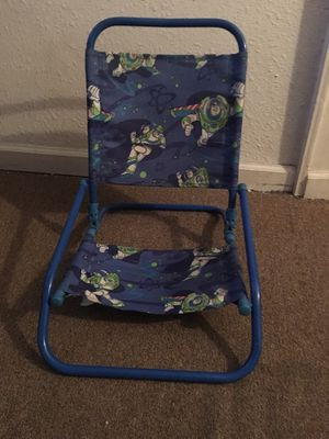 Buzz Lightyear kids folding chair for Sale in Elyria, OH