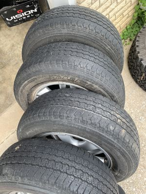 265/65/17 BridgeStone (4 Tire) Used for Sale in Nashville, TN