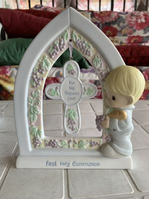 "Precious Moments Communion Shelf Plaque ""For His Precious Love "" for Sale in Boston, MA"