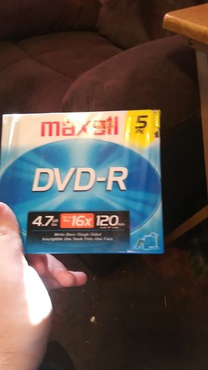 Dvd-r Maxwell for Sale in Clovis, CA