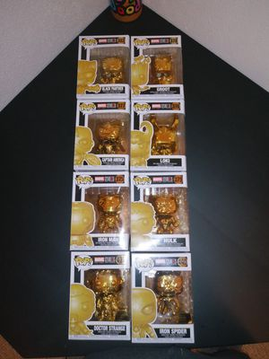 Golden Avenger Funko Pops for Sale in Henry, IL