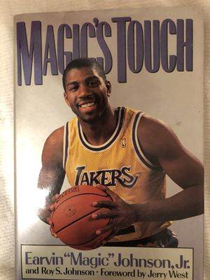 LA Lakers Magic Johnson's Magic Touch book first printing from 1989 for Sale in Mesa, AZ